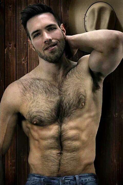 Hairy Asian Man 78
