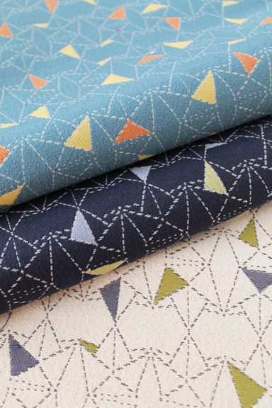Anchor - Carnegie fabric design inspired by origami boats!