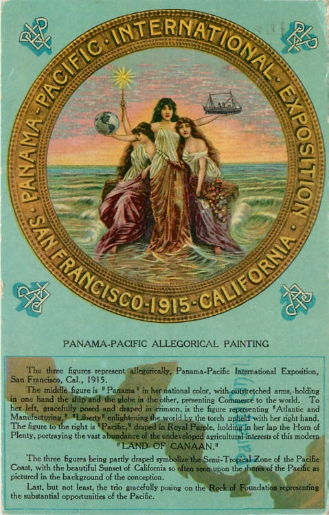 Panama Pacific Painting 1915 http://panama.escapeartist.com