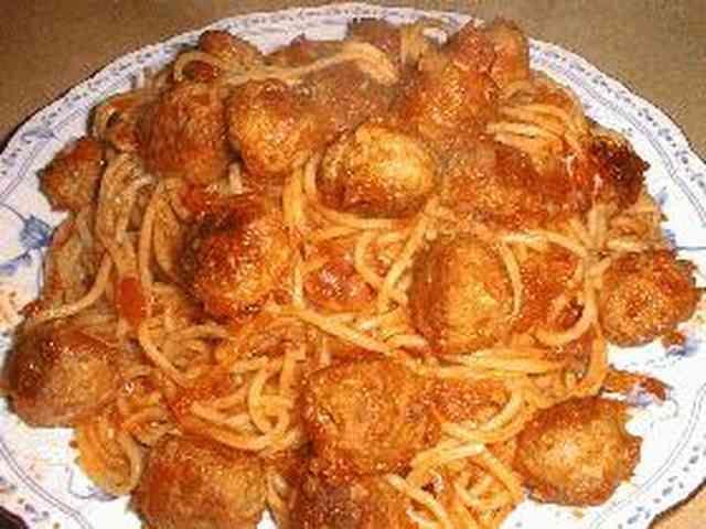 「カリオストロ」のミートボールスパゲティの画像