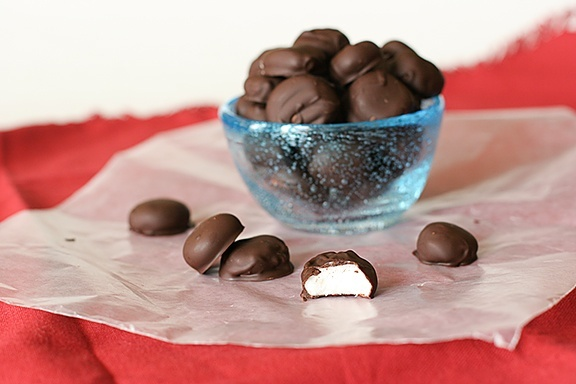 homemade junior mints...I need to learn how to make mints like Six Penn!!!!