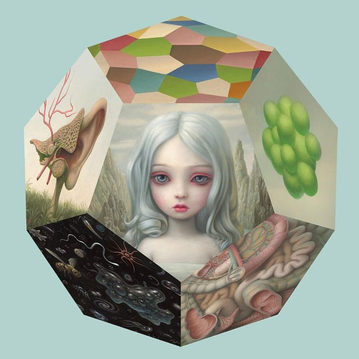 Pop Surrealist Mark Ryden (Hi-Fructose Vol. 18) has long incorporated alchemy and numerology in his fairytale-like world, filled with symbols and strange letters. The Los Angeles based artist once …