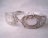 Spoon Bracelet, Silverware Jewerly, Victorian Spoon Bracelet, Wedding, Bridesmaid, Spoon Jewelry ALASKA 1890. $30.99, via Etsy.