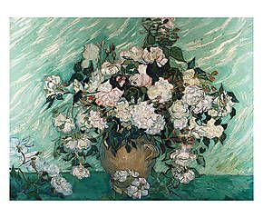 Stampa fine art su tela con telaio in legno Composizione - 100x70x4 cm