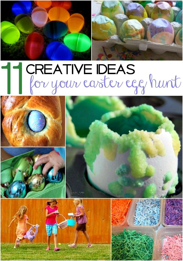 11 Creative Ideas For The Family Easter Egg Hunt The O