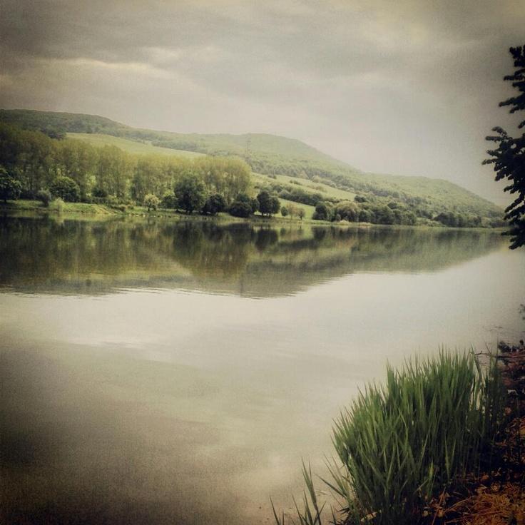 Lake, Vrbové, Slovakia