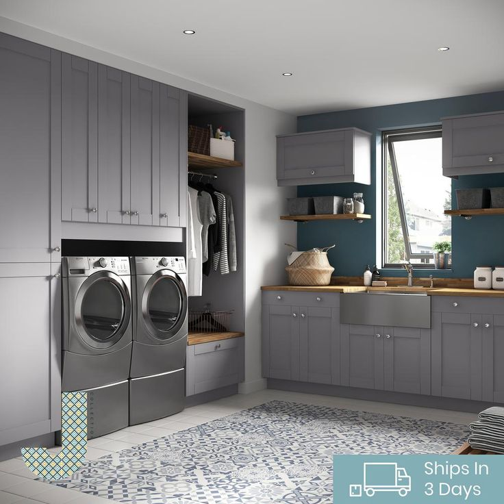 j collection shaker assembled 15 in x 84 5 in x 24 in pantry cabinet in gray t152484 5 l r on r kitchen cabinets id=90675