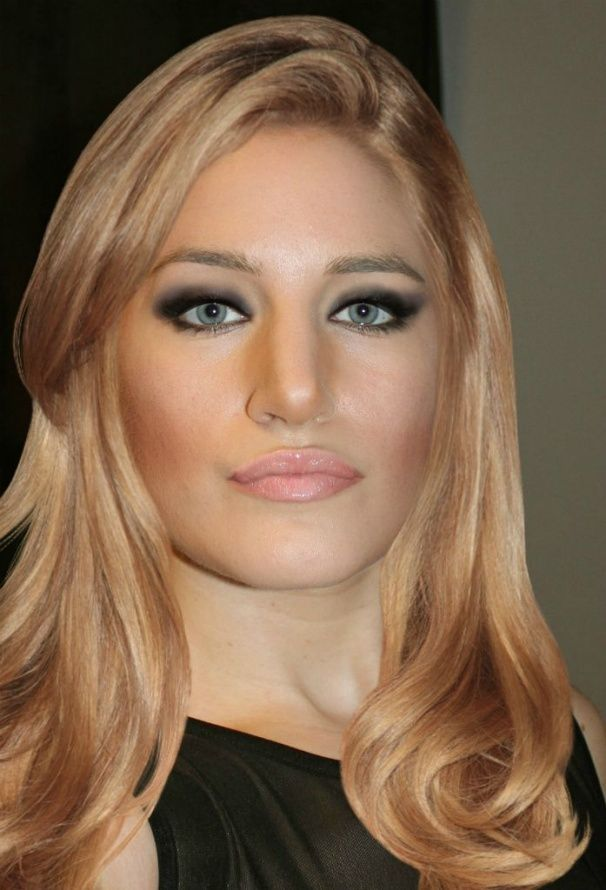 Retro - Jennifer Lawrence Hairstyle and Clinique Shy &'Blushwear&' Cream Stick - DanielleMarie84's Makeover - TAAZ.com