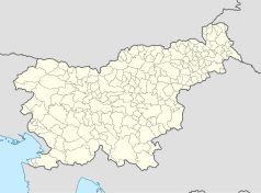 Mapa lokalizacyjna Słowenii