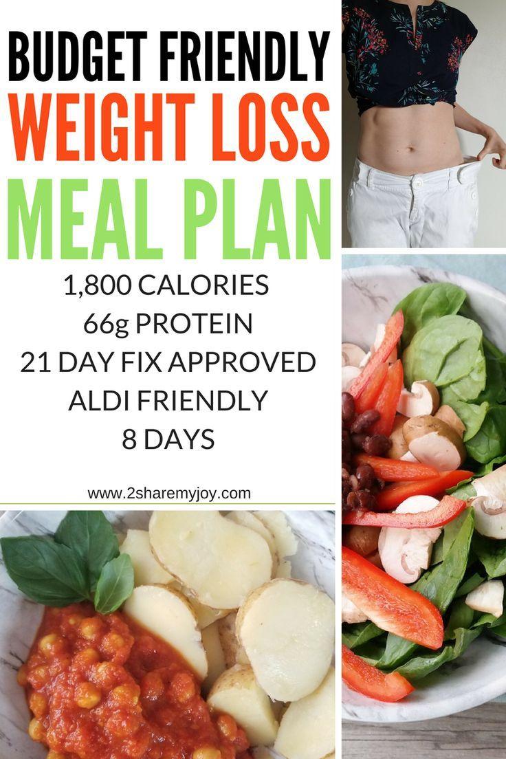 Vegan 21 Day Fix Meal Plan (1,500-1,800 calories, GF) gluten free plant  based weight loss meal plan #weightloss #glutenfree #mealplan #vegan  #onabudget - ...