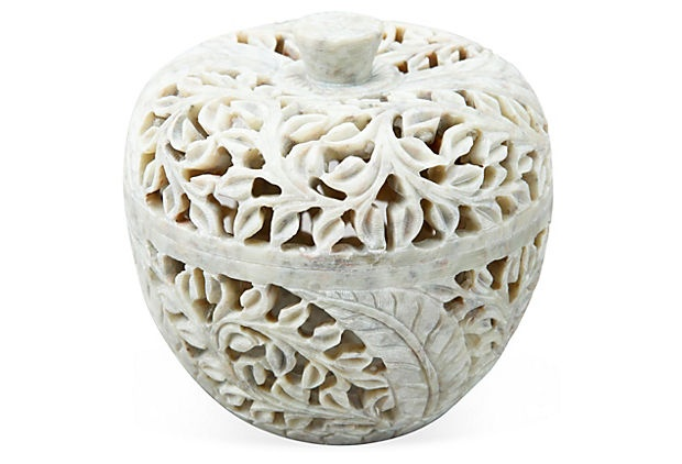 White Jasmine Decorative Box on OneKingsLane.com