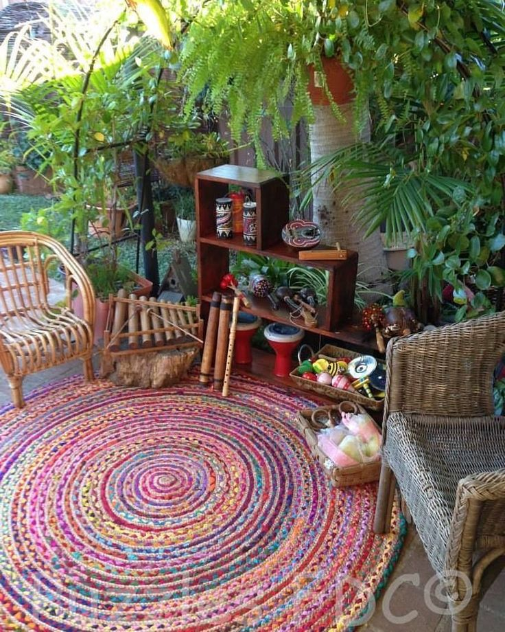 "1,007 Likes, 14 Comments - Bohem Interiors (@boheminteriors) on Instagram: ""Love this outdoor spot"""