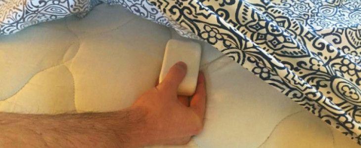 Cosa succede a mettere una SAPONETTA tra le lenzuola del letto? INCREDIBILE!