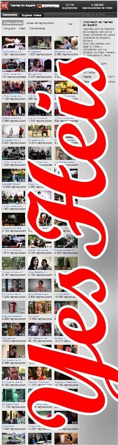 Yesheis - estupenda selección de vídeos de temática religiosa o con mensaje.