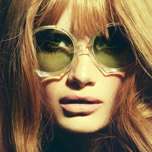 Heather Gildroy. 60's sunnies: Stoned Immaculate Vintage.