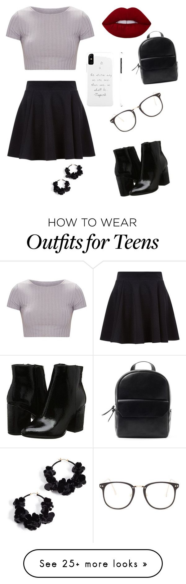"""""""job interview """" by wintersummer1012 on Polyvore featuring Nasty Gal and Oscar de la Renta"""