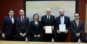 El IMSS firma convenio de colaboración con la escuela libre de derecho