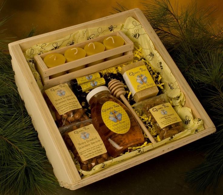 Queen Bee Honey Gift Basket. $58.95, via Etsy.