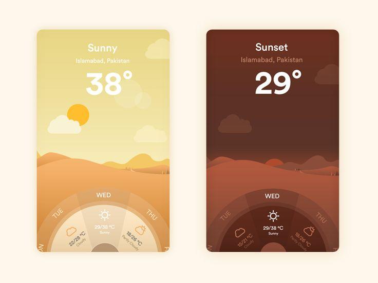 Winfo  - Weather App by Ar Mani