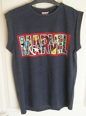 MARVEL Ladies Superheroes Logo T Shirt UK 6-20 Primark Tee Top Vest Avengers - Google Search - visit to grab an unforgettable cool 3D Super Hero T-Shirt!