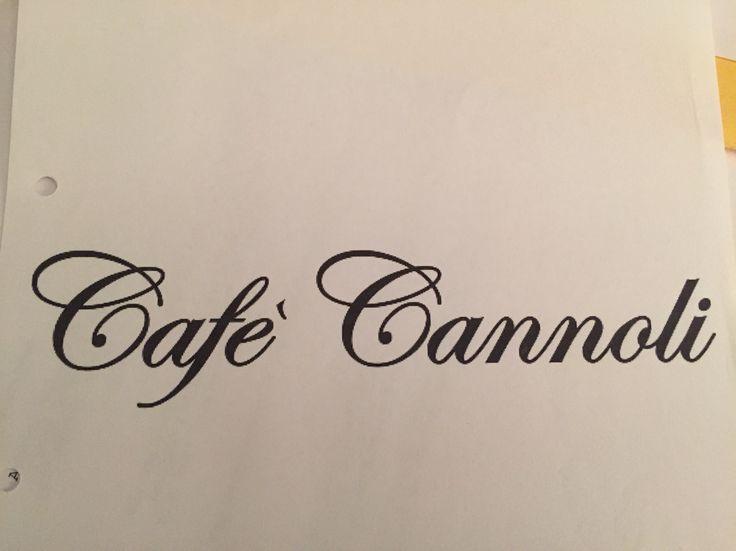 Cafe Cannoli.
