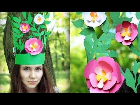 In today's tutorial we'll cut a gorgeous forest fairy crown for a fancy dress ball or a party. This amazing DIY accessory can also become a perfect kid ornate decor for a school play or a masquerade! #diyaccessory #masquerade #fairycrown