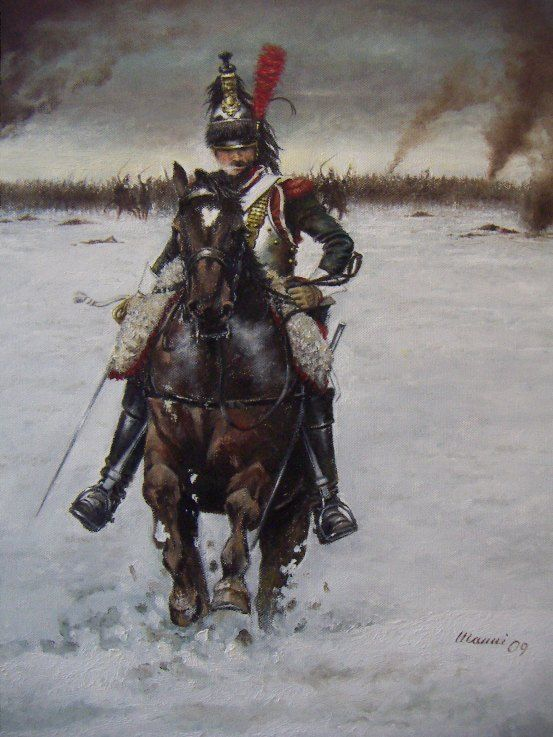 French Cavalry Quot Charge Du 1er Cuirassier 224 Eylau