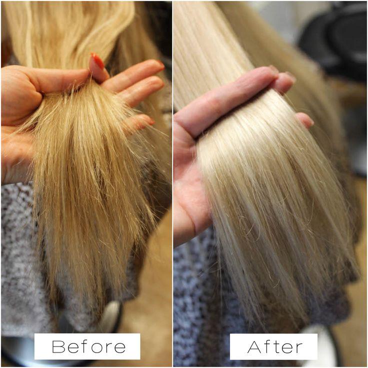 Olaplex multiplies bonds making hair stronger, healthier, while color lasts longer with more vibrancy.