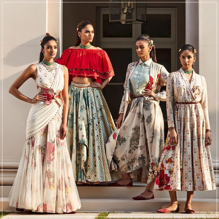 Tarun Tahiliani Collections. The two looks on the right are my favourites!