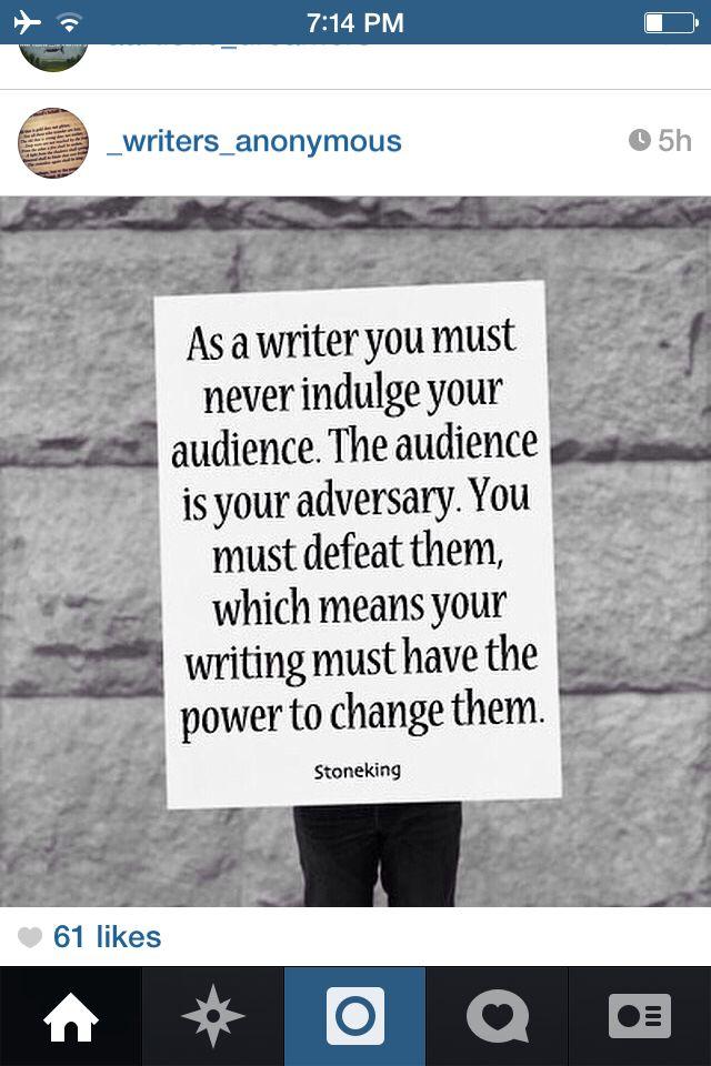 Writing Inspiraion