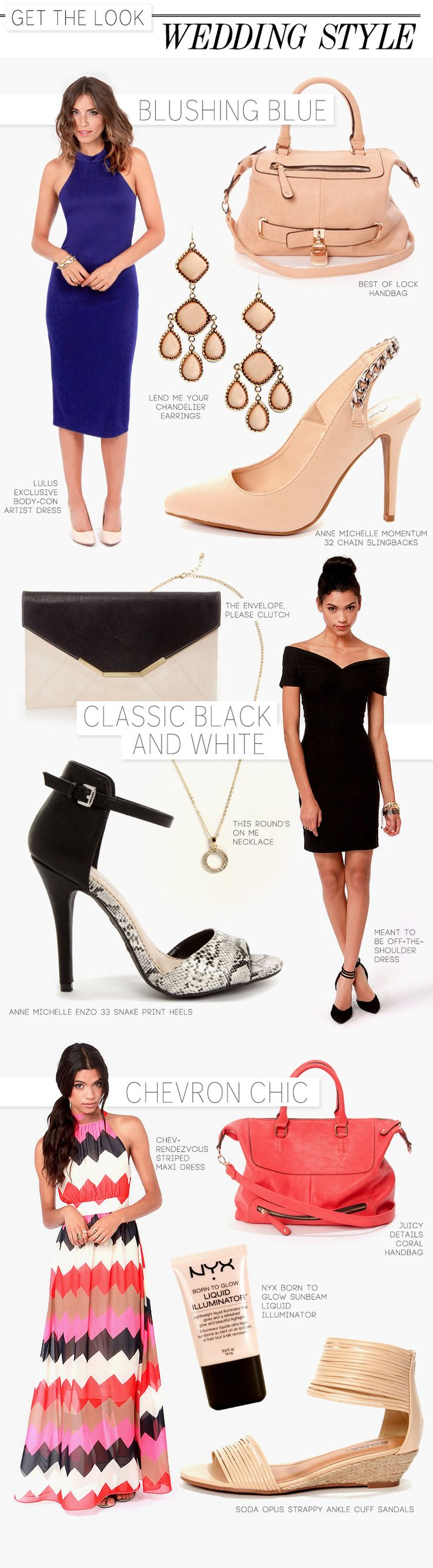 Get the Look: Wedding Guest Style via lulus.com