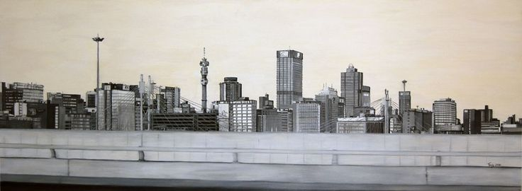 johannesburg city scape night - Google Search