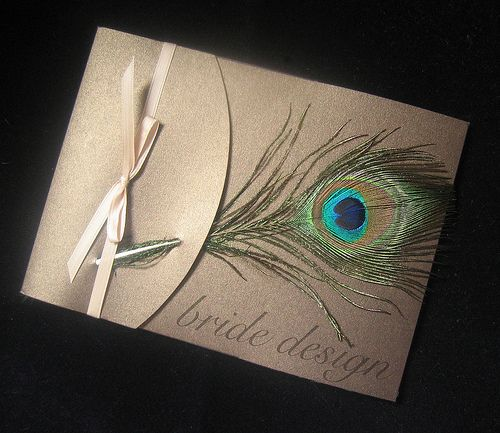 peacock feather cards - Google Search