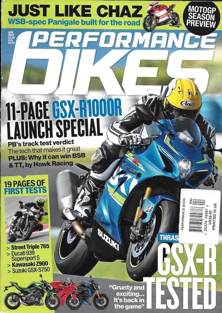 Performance Bikes Motorcycle Magazine Kawasaki Suzuki Ducati