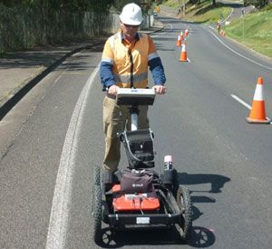 GPR service specialists are experienced in locating underground utility and locating service by using the most advanced in ground penetrating radar technology.