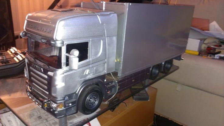 scania flisbil rc truck tamiya pinterest. Black Bedroom Furniture Sets. Home Design Ideas