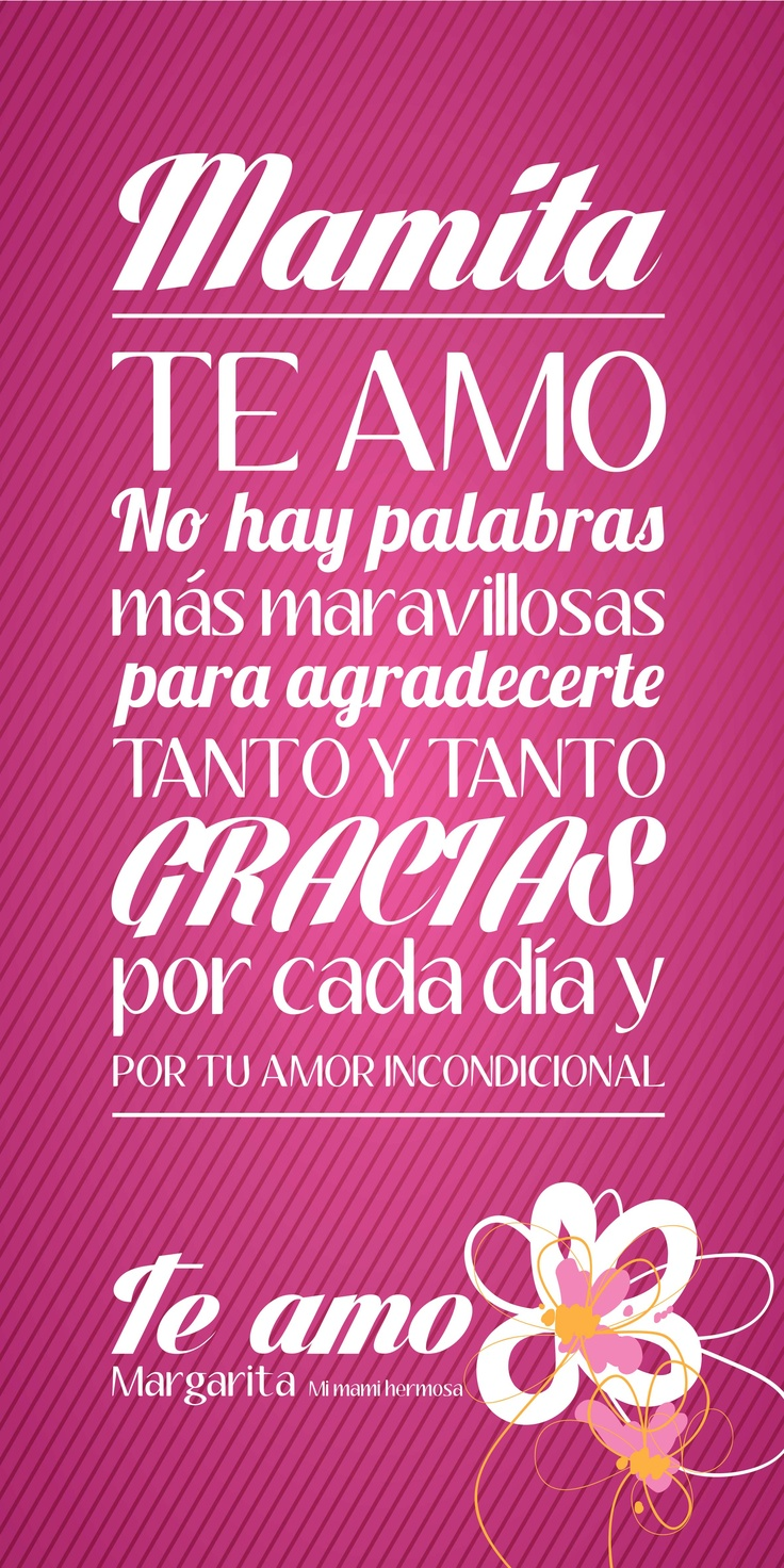 I Love You Mom Quotes In Spanish : Love You Mama Quotes In Spanish www.imgkid.com - The Image Kid Has ...