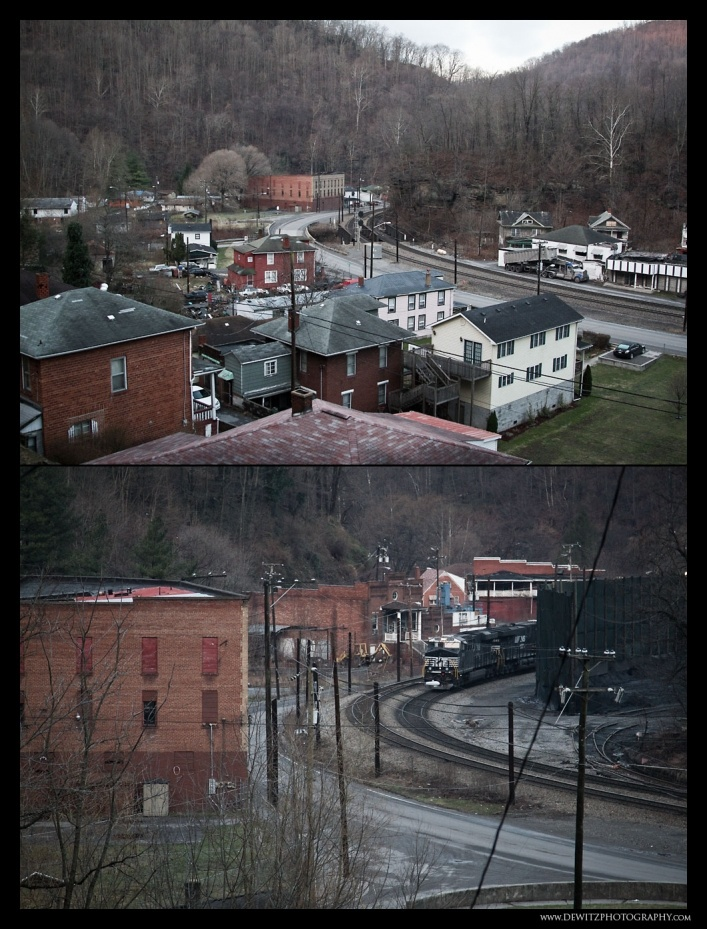 Overlook of Keystone West Virginia photo West Virginia Coal Country – McDowell County – Part 2