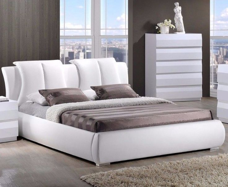 Best 25+ Leather bed frame ideas on Pinterest   White ...
