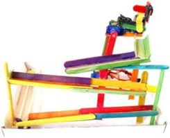 Arduino robot arm marble run