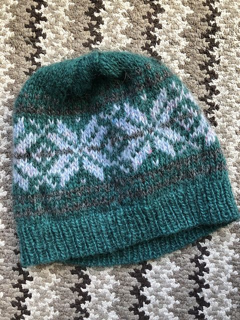 Ravelry  Project Gallery for Basic Norwegian Star Hat pattern by Cara Jo  Miller ee9d5ac56d1