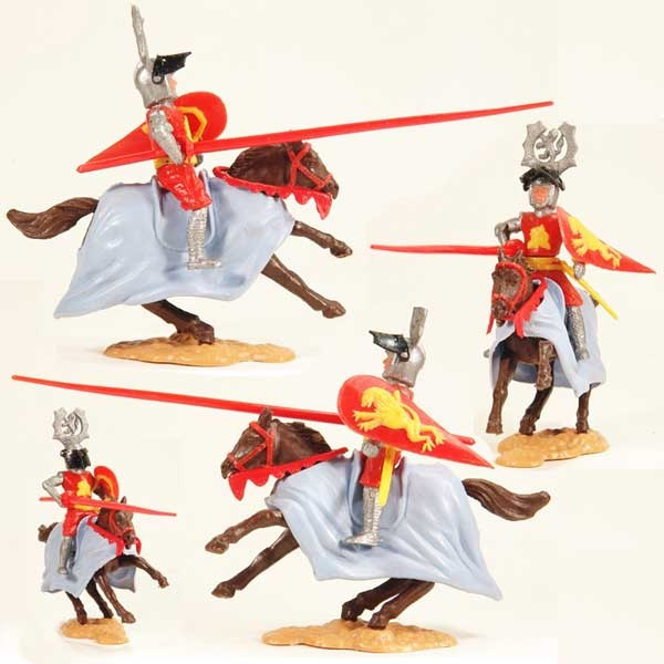 Timpo plastic knights