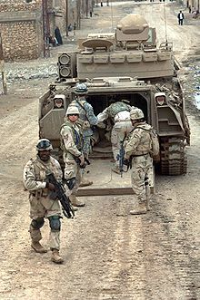 Bradley Fighting Vehicle - Wikipedia, the free encyclopedia