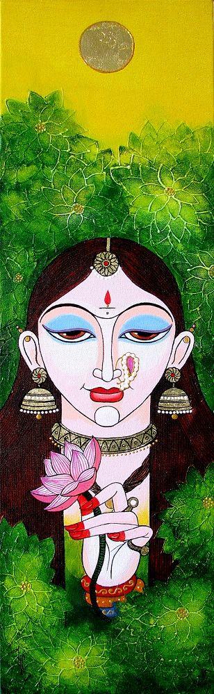 Usha by Varsha Kharatmal on Artflute.com