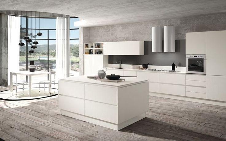 Il colore dei mobili può incidere notevolmente sull'aspetto dell'arredamento, perché scegliere una cucina bianca? http://www.arredamento.it/cucine-bianche-moderne.asp #cucina #bianco #neutro