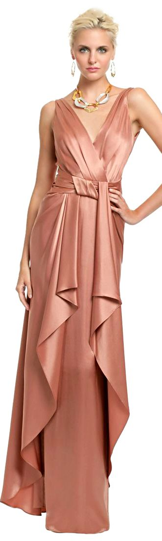Temperley London Gown ● 2013...Nice details to recreate. Adding sleeves optional. Change the color to fit your wedding theme.