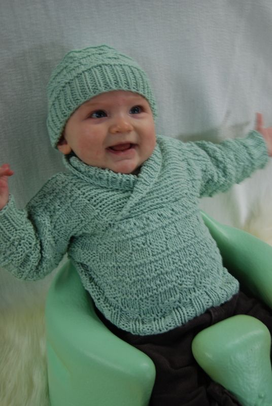 Busy Baby Boy Sweater & Hat http://brownsheep.com/patterns/downloadable-patterns