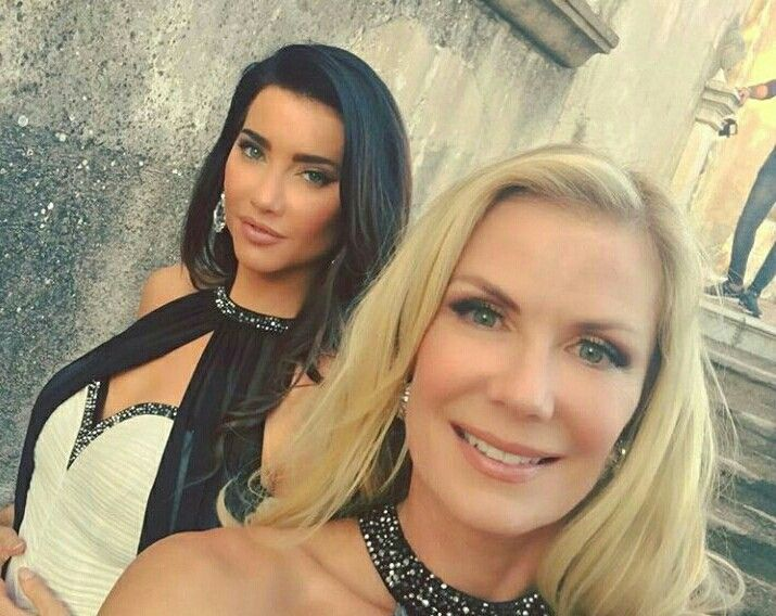 Katherine Kelly Lang and Jacqueline Macinnes Woodson #BoldAndBeautiful #theboldandbeautiful