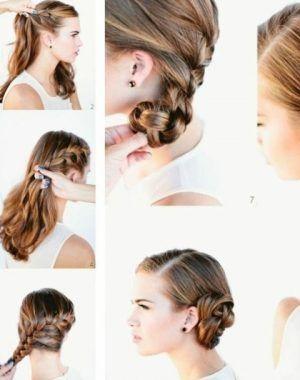 Dirndl Frisuren Anleitung Mittellange Haare Frisuren