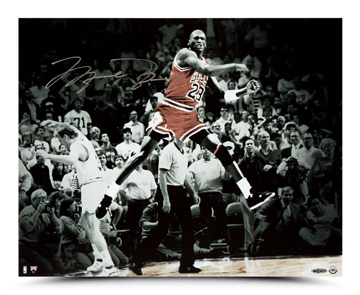 Michael Jordan Last Shot Celebration